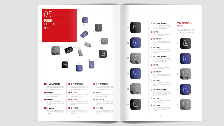 视觉传达富士达电梯画册设计应用场景