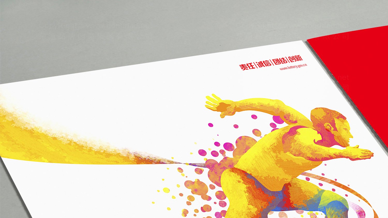 IT通讯视觉传达中体彩画册画册设计