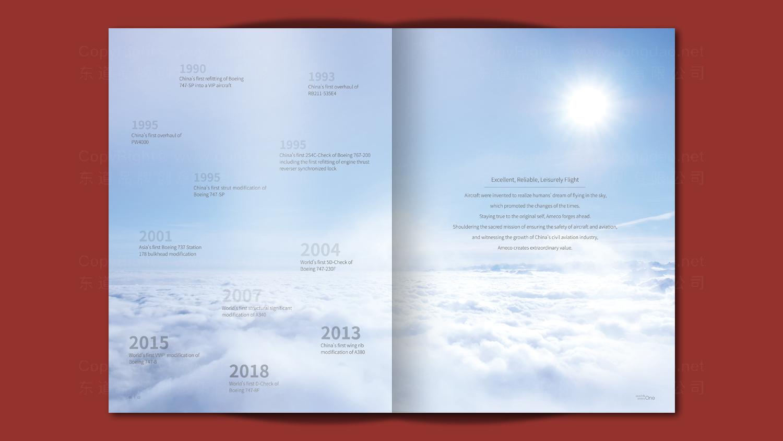 工业制造视觉传达Ameco画册设计
