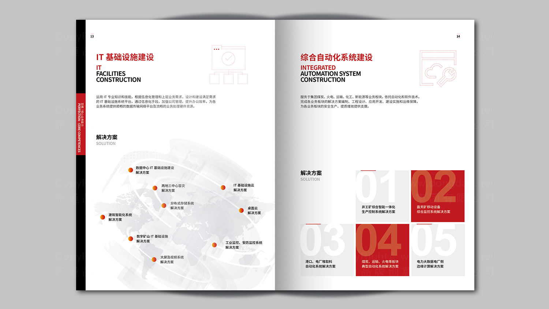 视觉传达神华信息技术画册设计应用场景_5