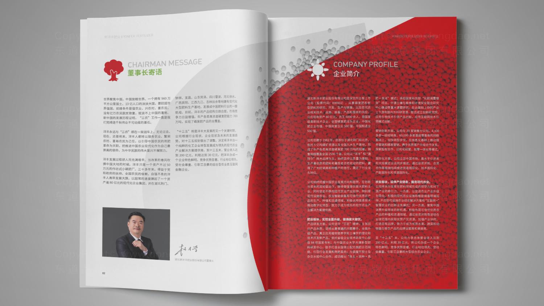 视觉传达新洋丰肥业画册设计应用