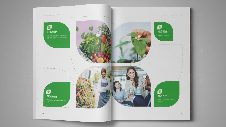 视觉传达新洋丰肥业画册设计应用场景_4