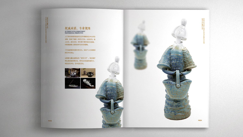 视觉传达中国工艺画册设计应用