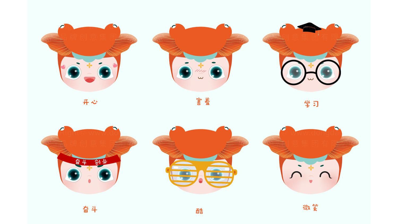 文体娱媒视觉传达全国双创活动周吉祥物设计