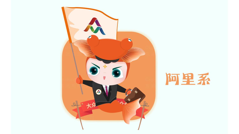 视觉传达全国双创活动周吉祥物设计应用场景_1