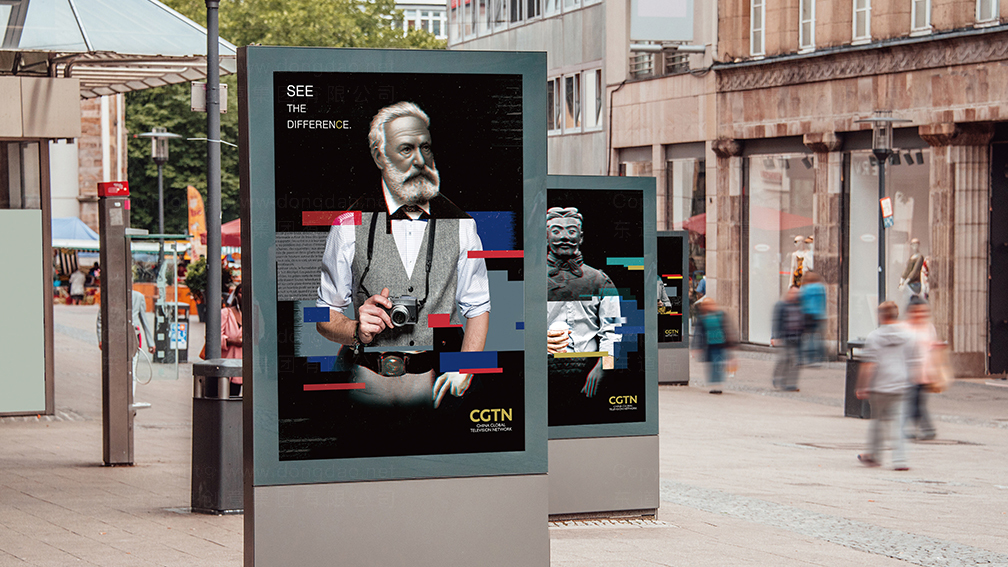 视觉传达CGTNCGTN兵马俑系列广告设计应用场景_1