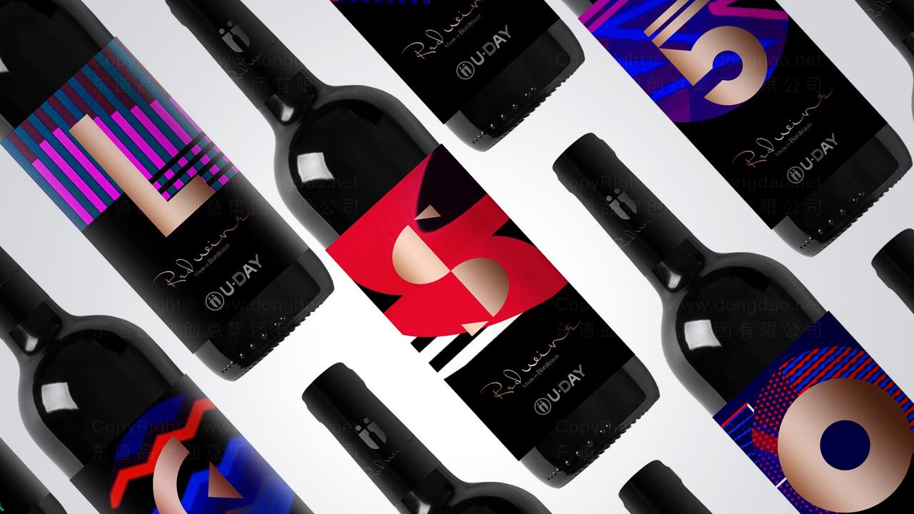 产品包装案例U-Day红酒系列