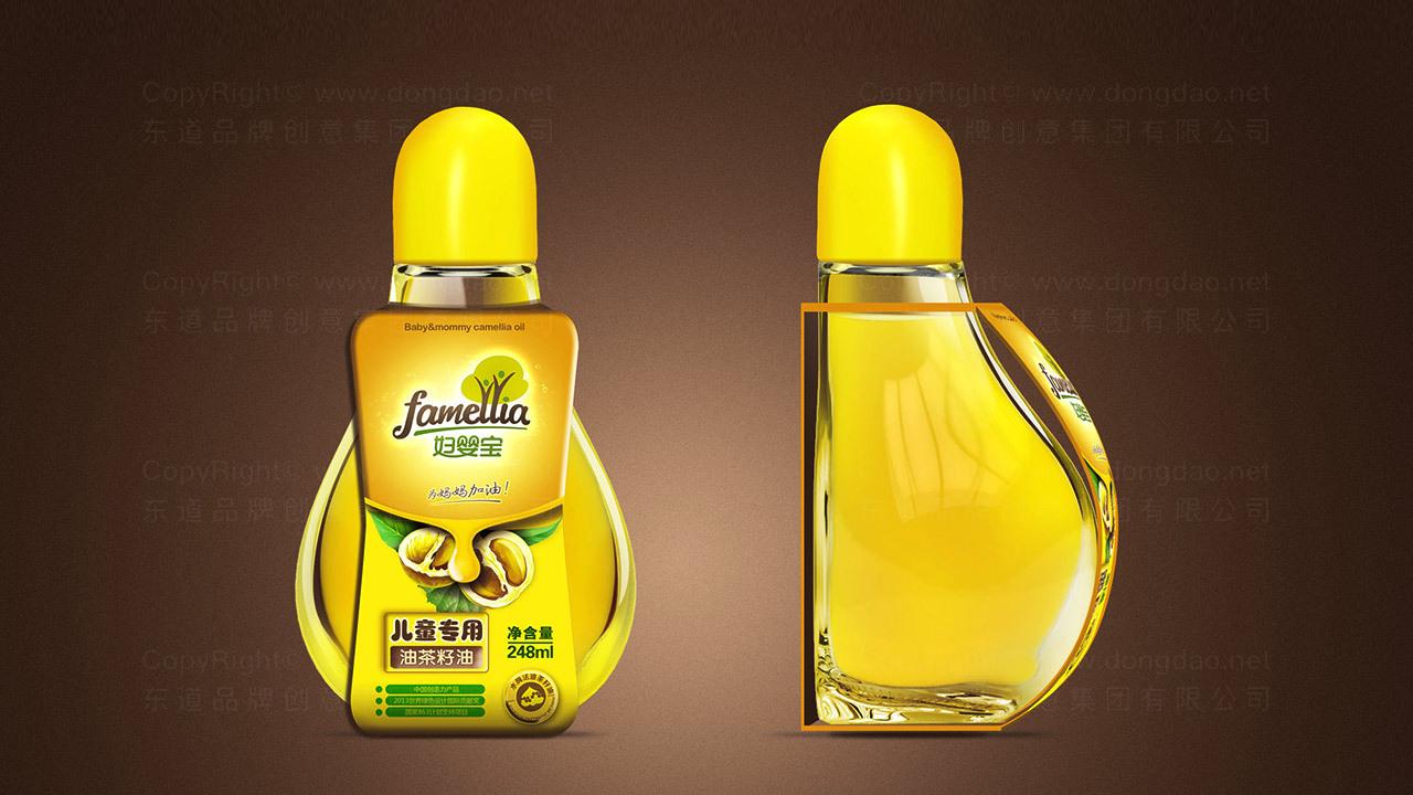 产品包装案例康奕达茶油产品全案