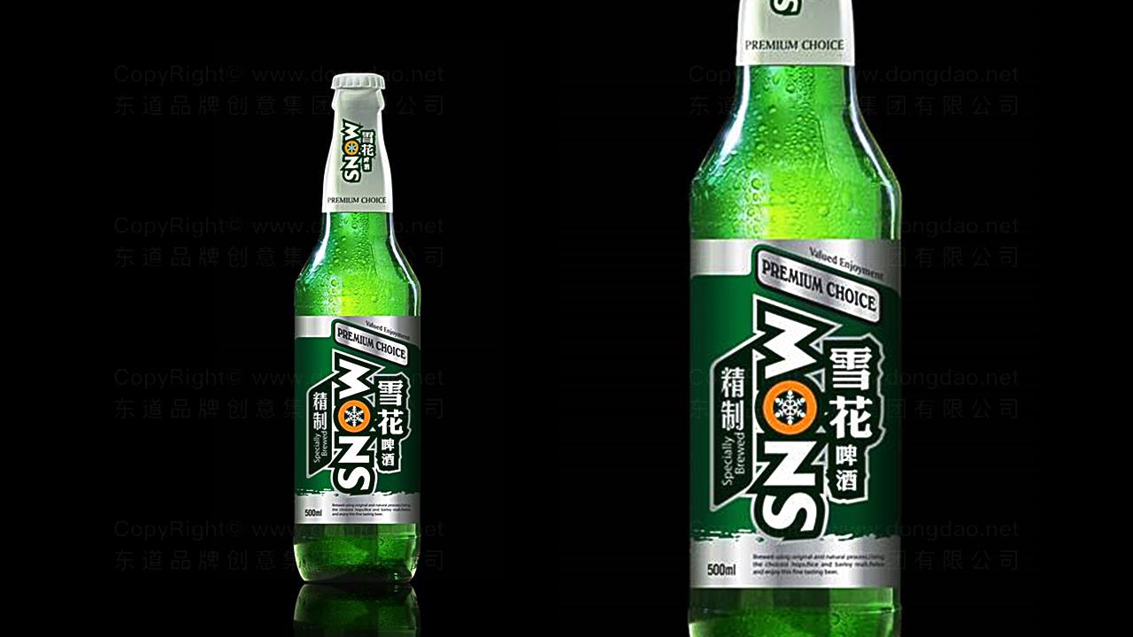 产品包装雪花啤酒品牌包装应用场景