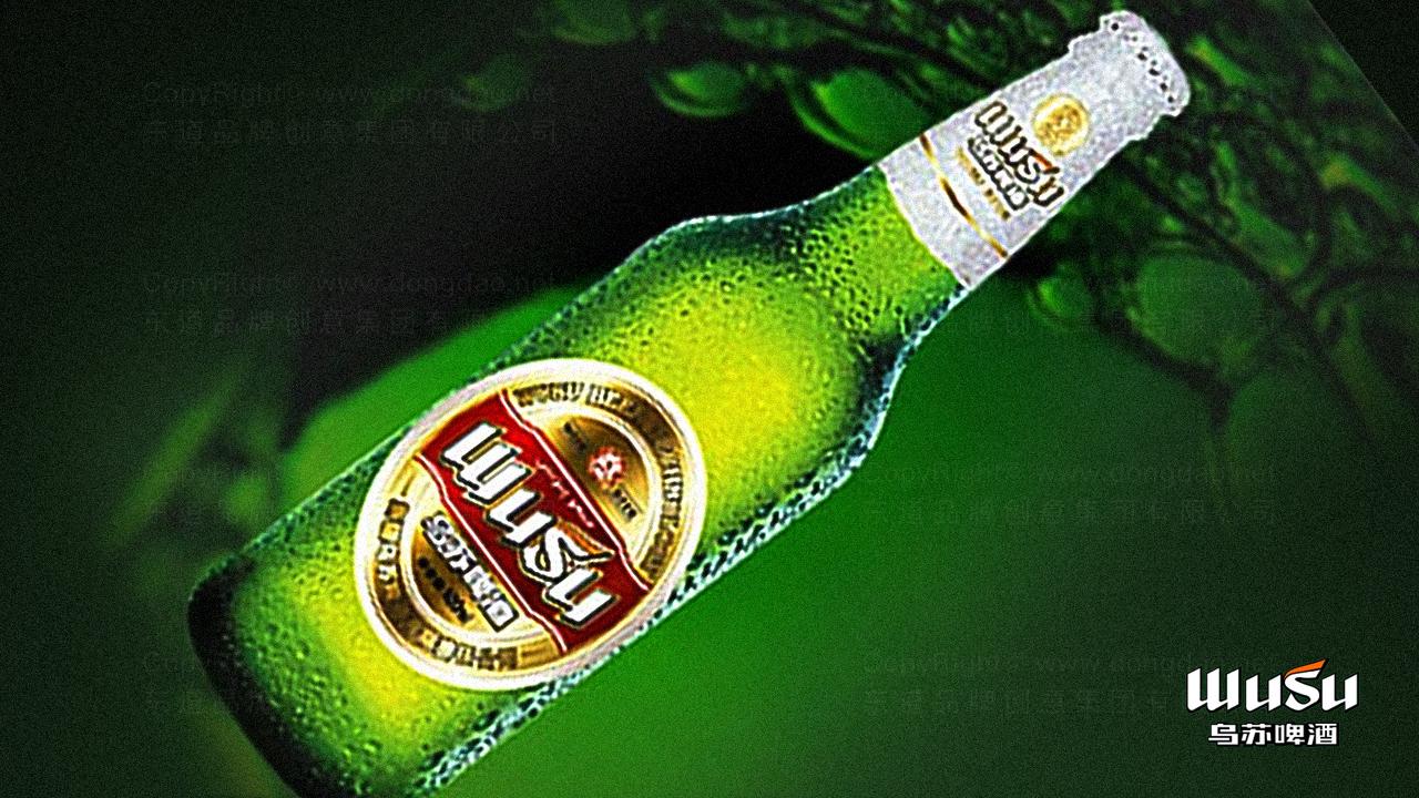 产品包装乌苏啤酒品牌包装应用