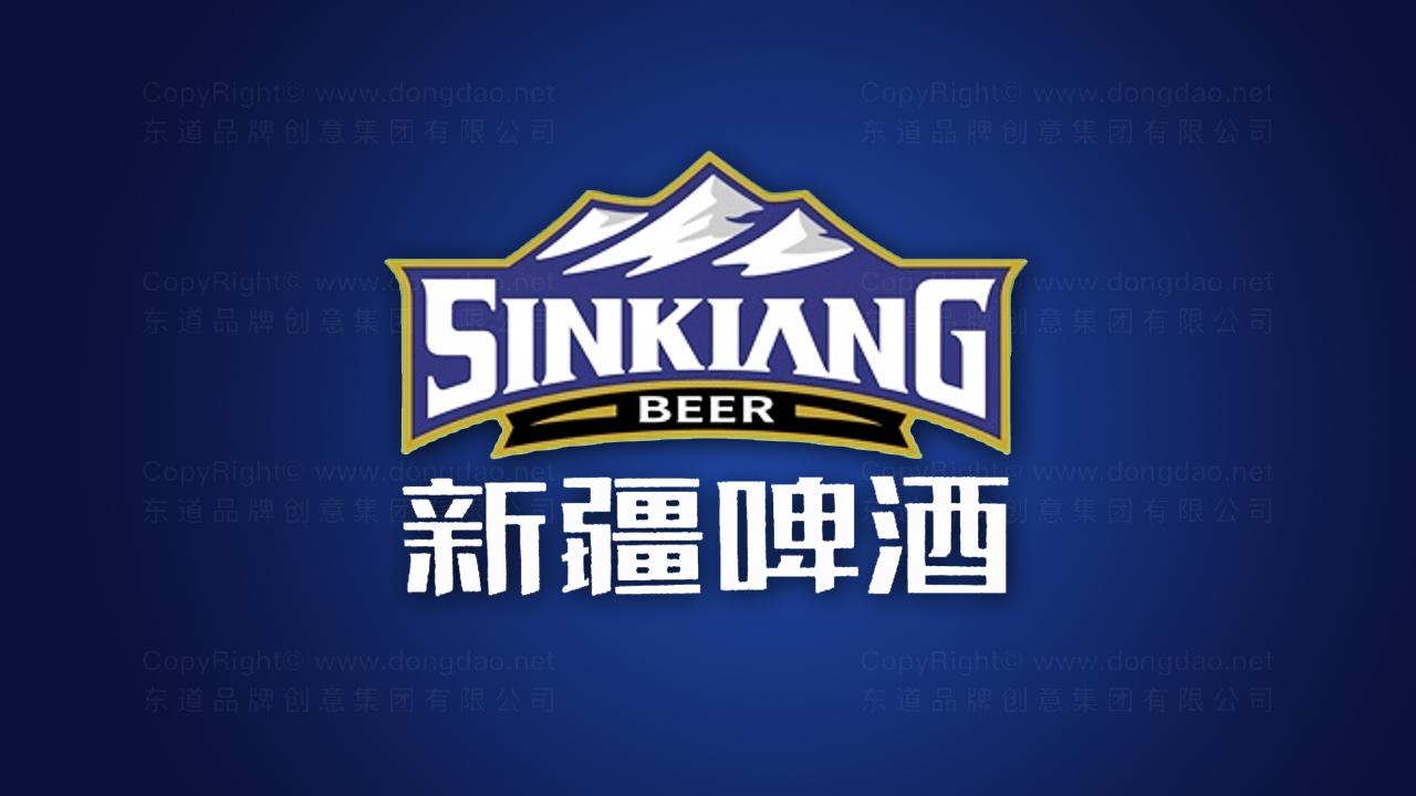产品包装案例新疆啤酒品牌包装