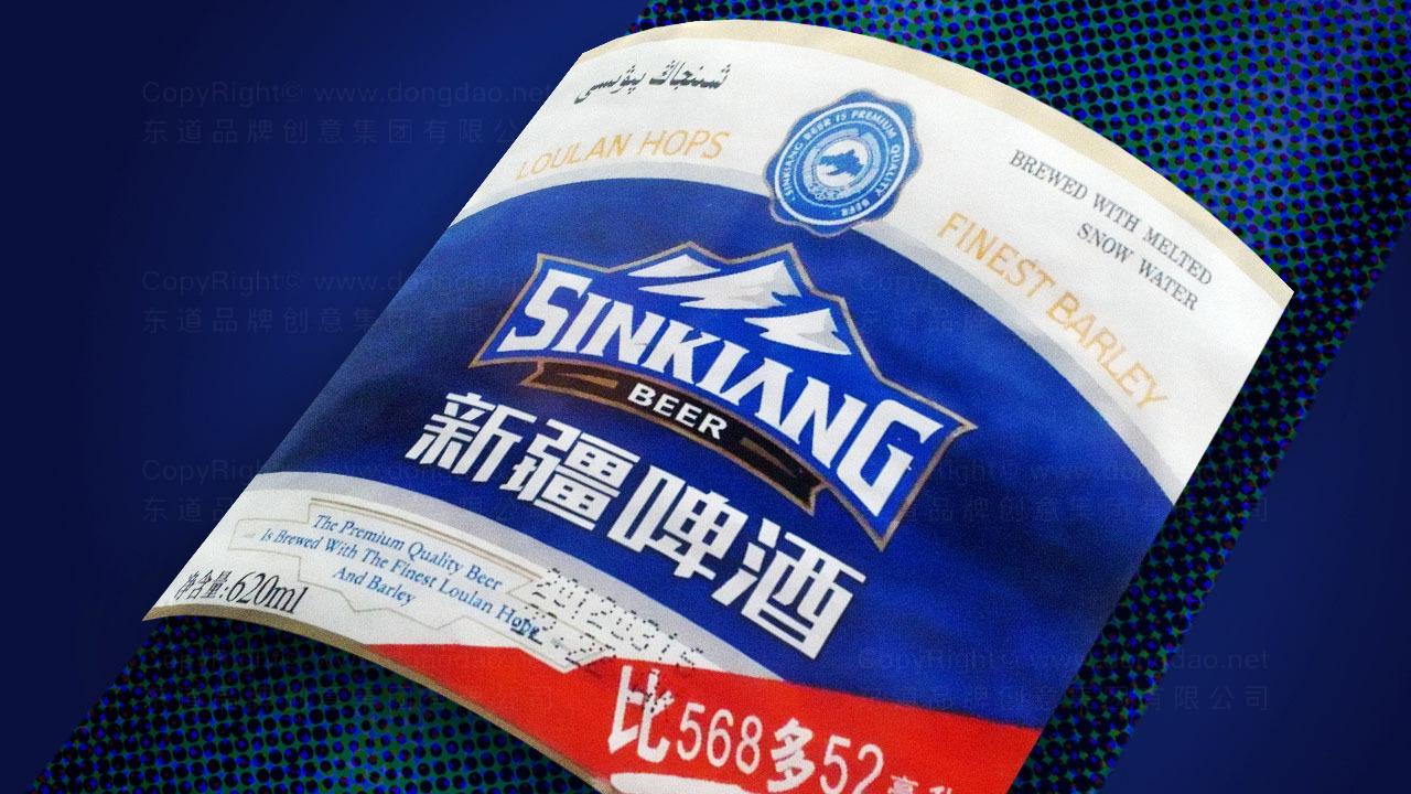 快速消费产品包装新疆啤酒品牌包装