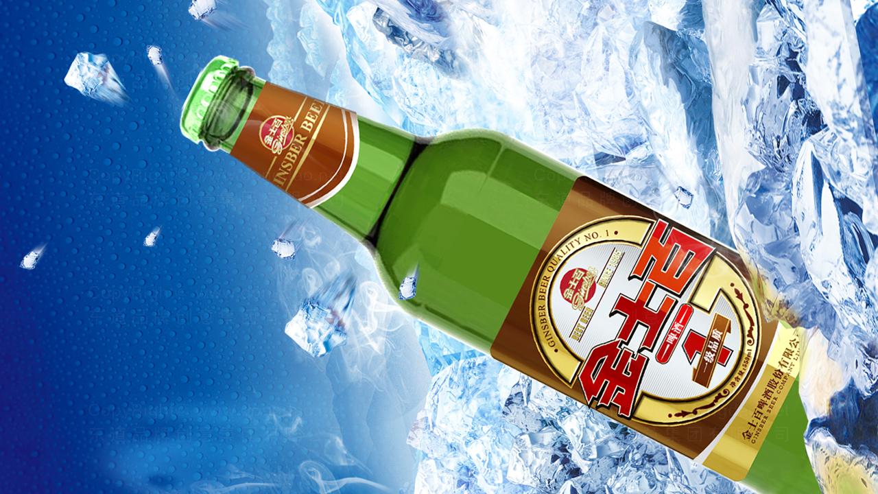 产品包装金士百啤酒品牌包装应用场景_2