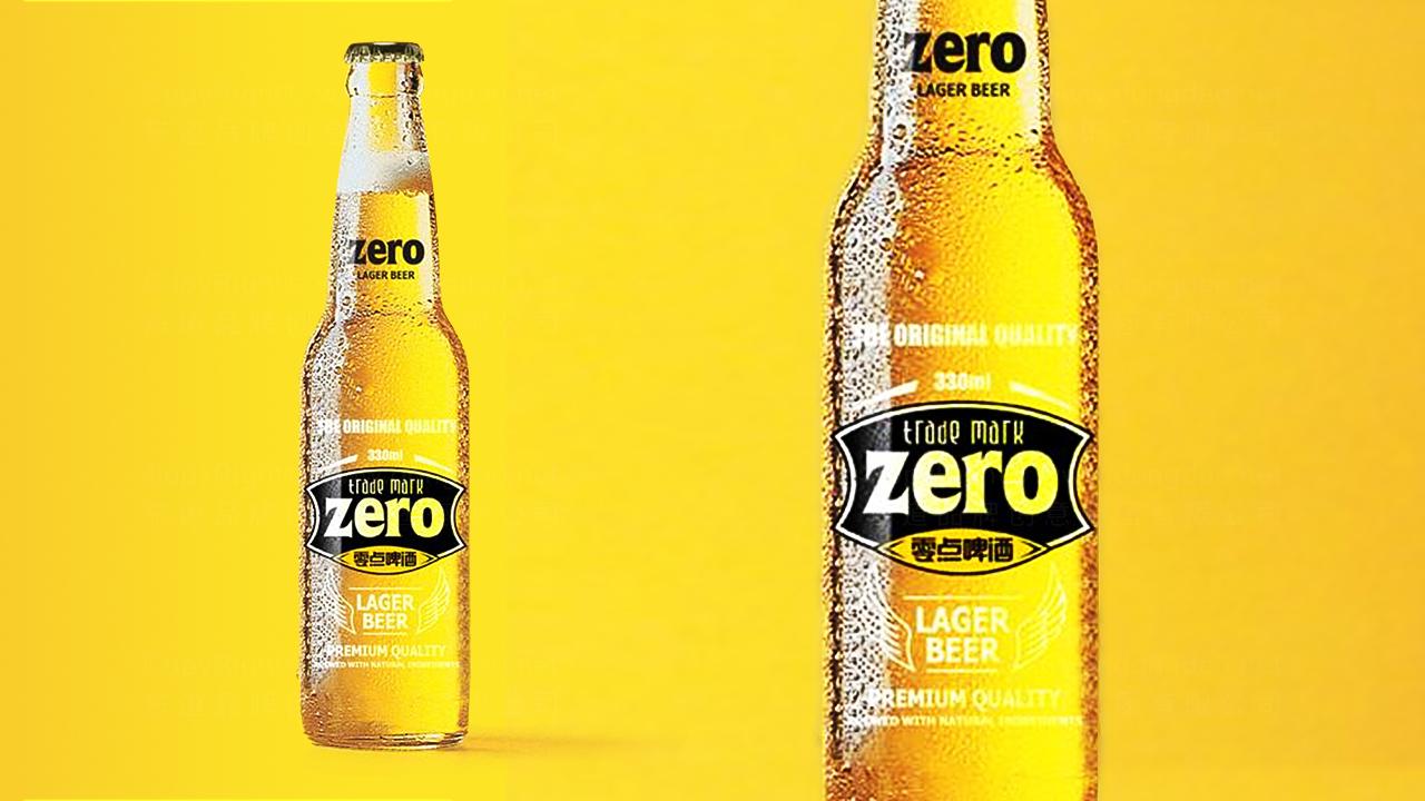 产品包装案例零点啤酒品牌包装
