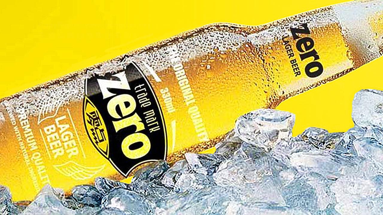 快速消费产品包装零点啤酒品牌包装