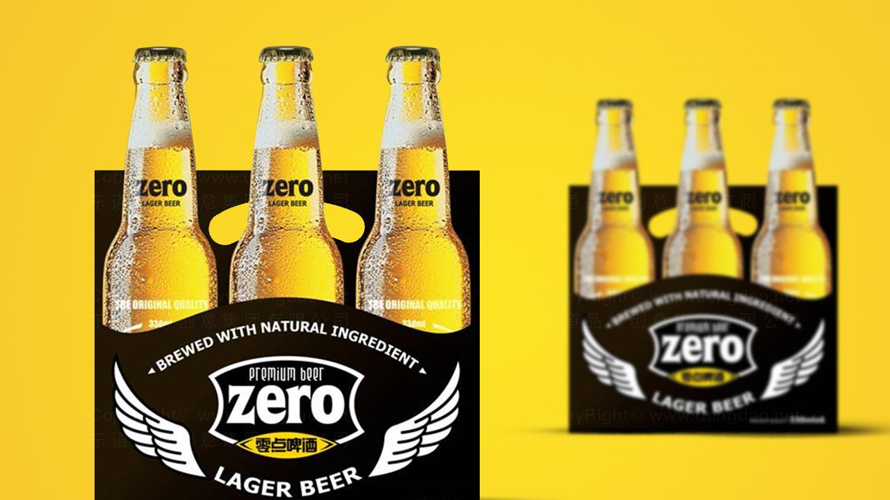 产品包装零点啤酒品牌包装应用场景