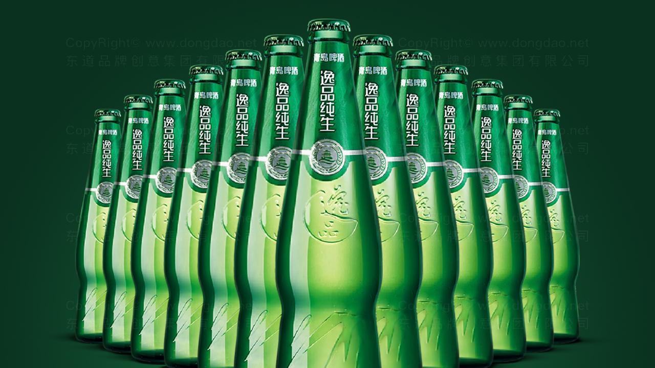 产品包装青岛啤酒包装设计应用场景