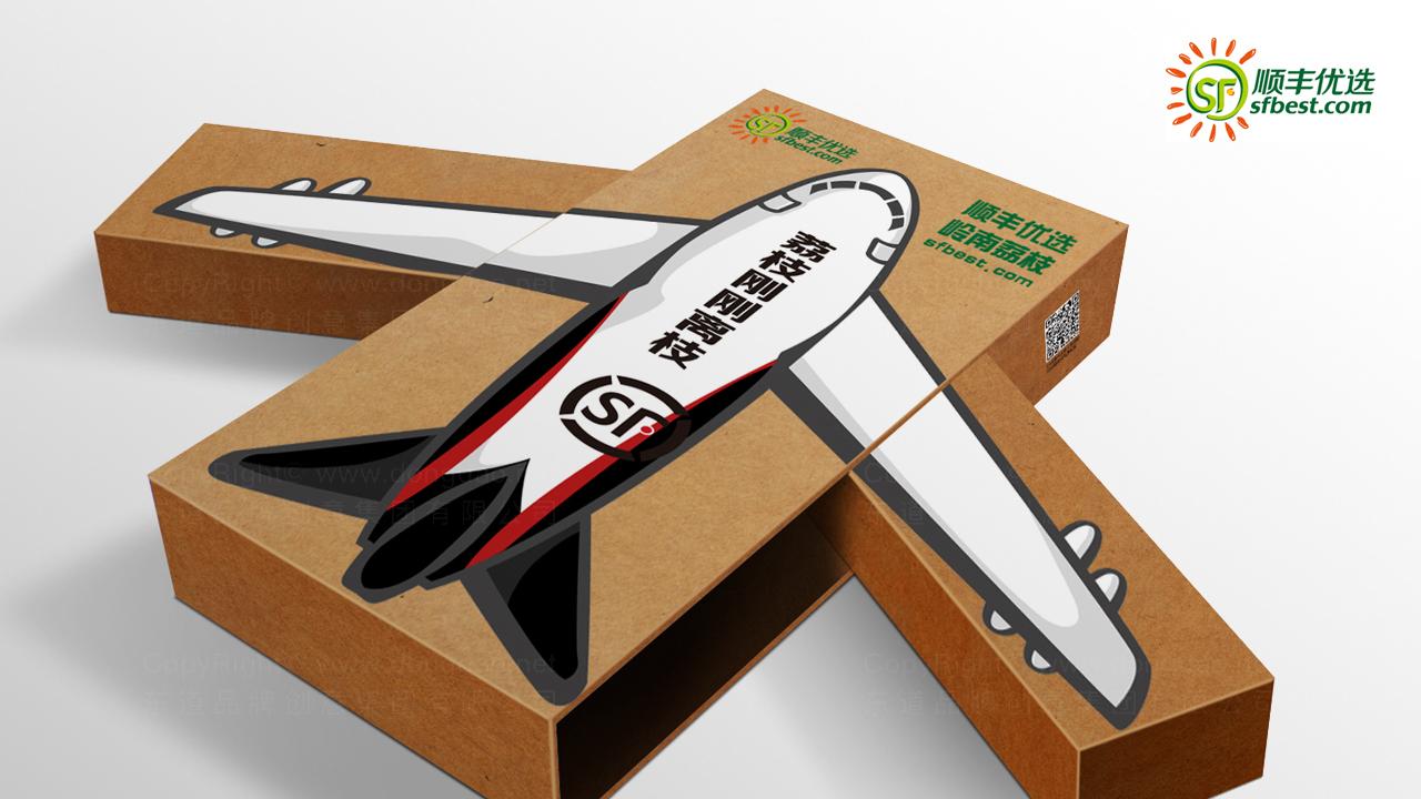 产品包装案例顺丰优选礼盒包装