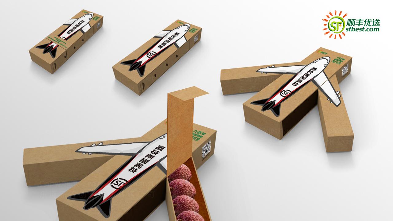 产品包装顺丰优选礼盒包装应用场景