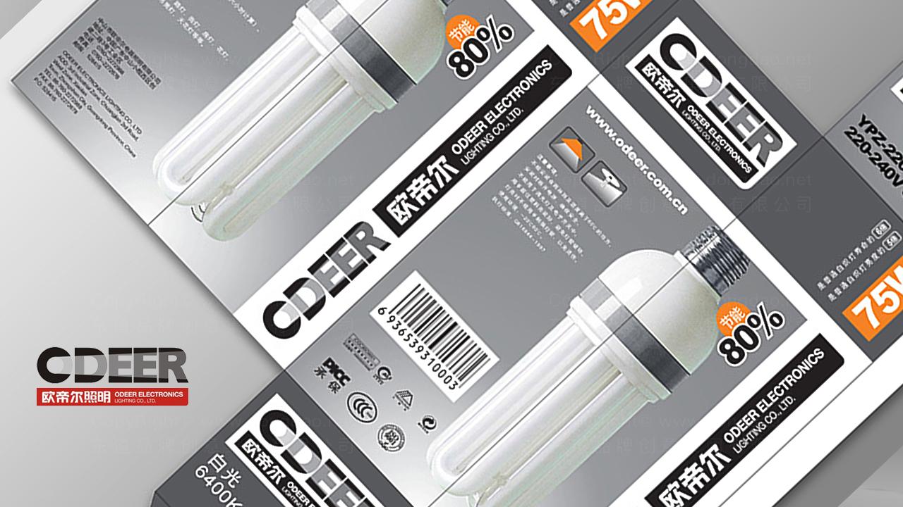 产品包装欧帝尔照明系列包装应用