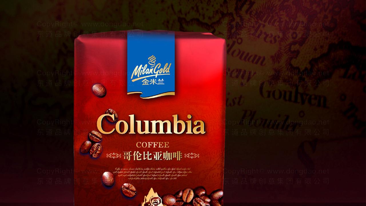 产品包装案例金米兰咖啡系列包装
