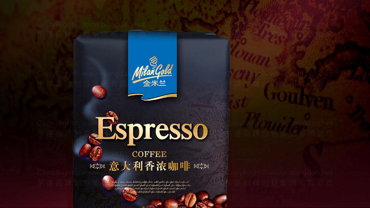 产品包装金米兰咖啡系列包装应用