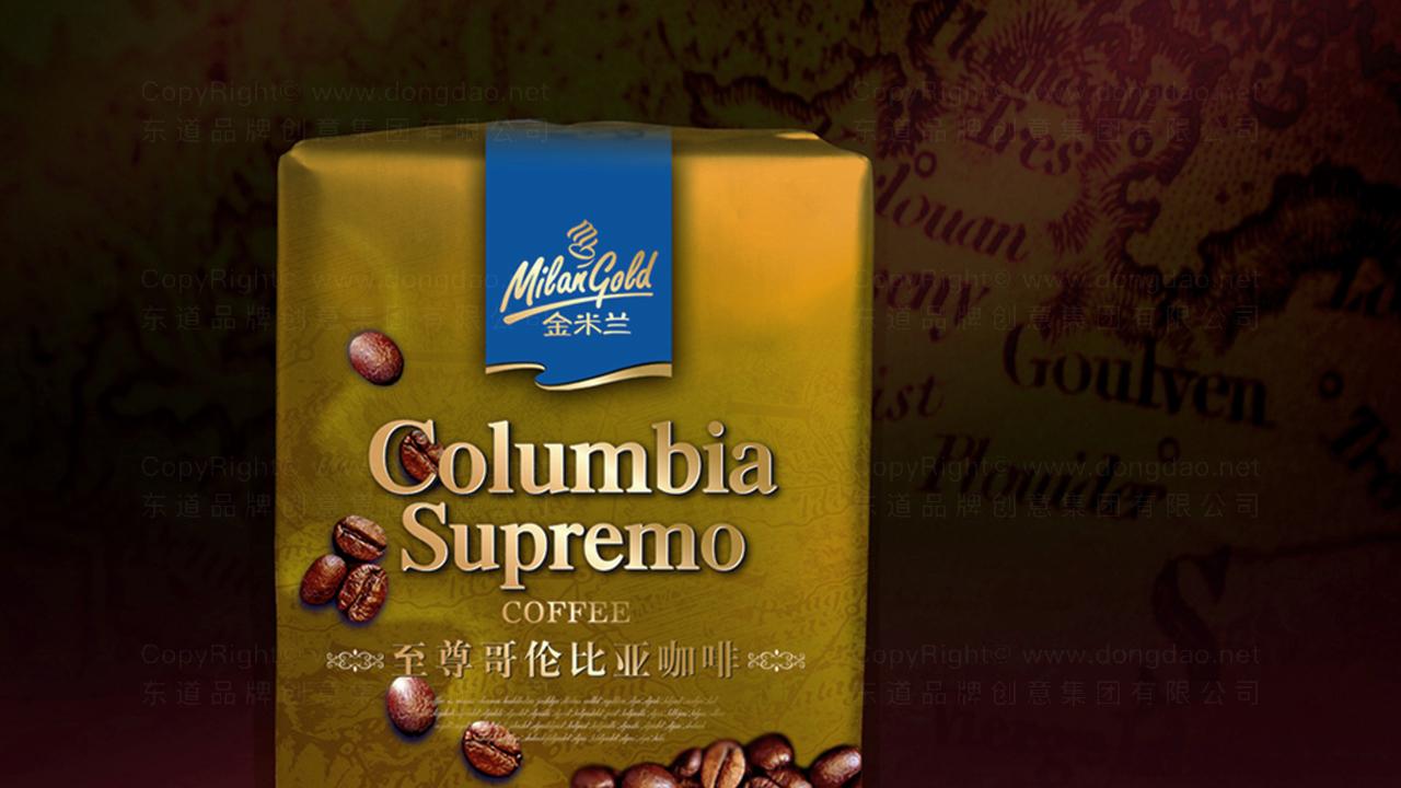 产品包装金米兰咖啡系列包装应用场景