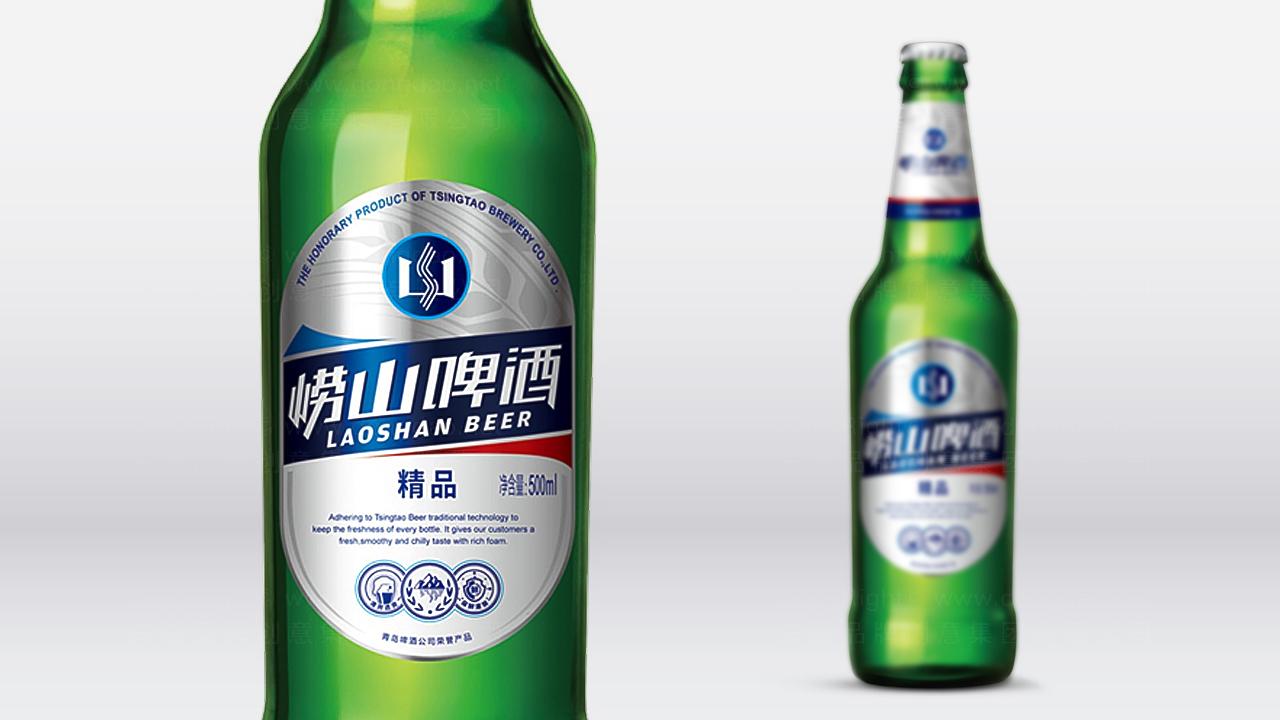 产品包装崂山啤酒崂山啤酒体系包装设计应用场景