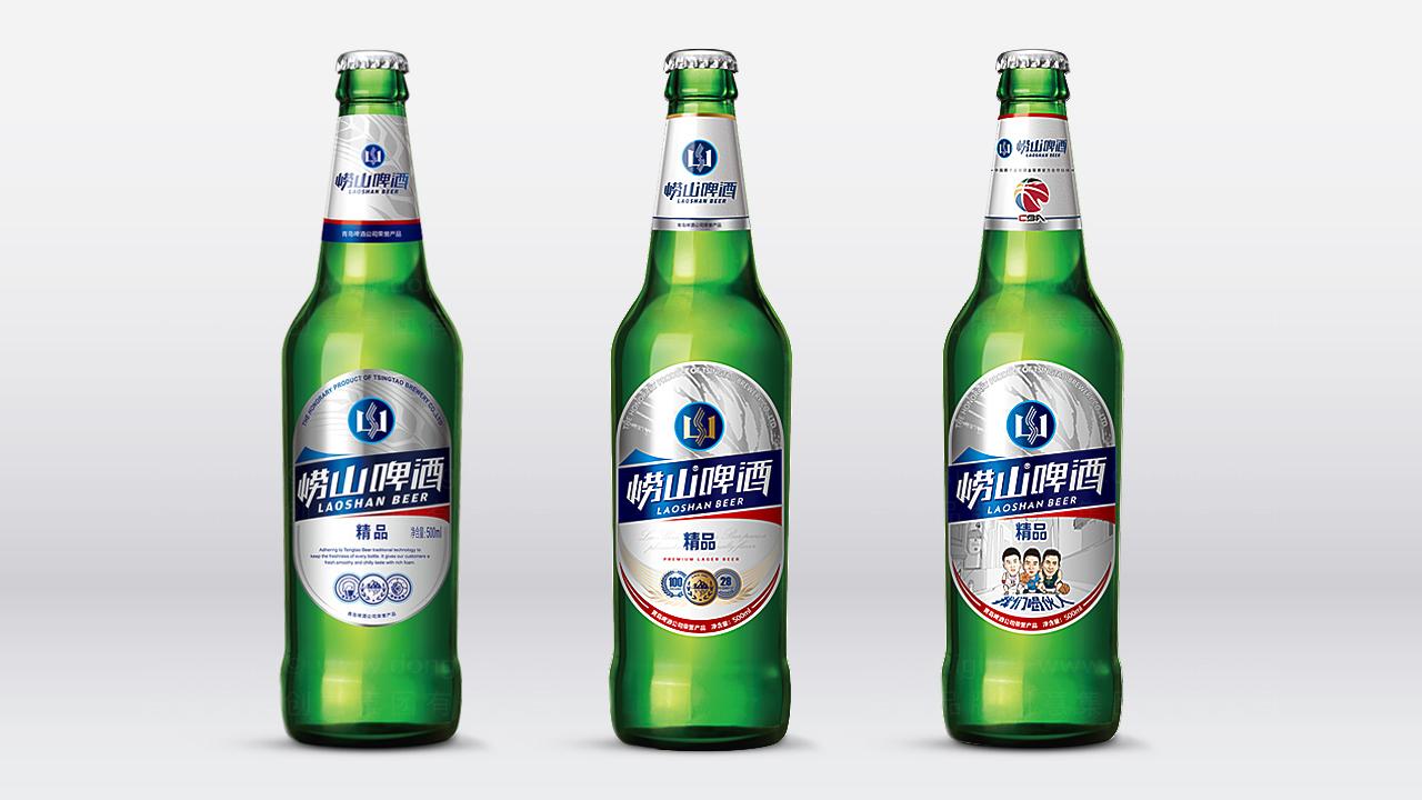 产品包装崂山啤酒崂山啤酒体系包装设计应用场景_2