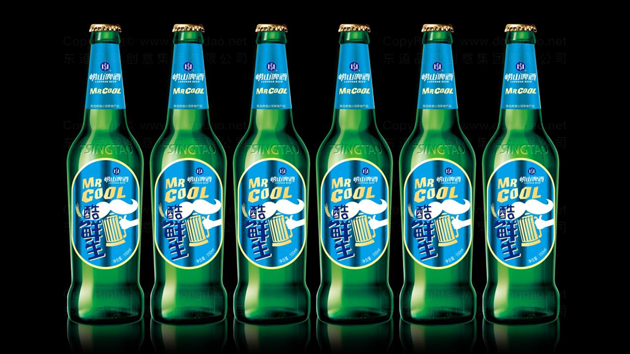 产品包装崂山啤酒酷鲜生包装设计应用场景_4
