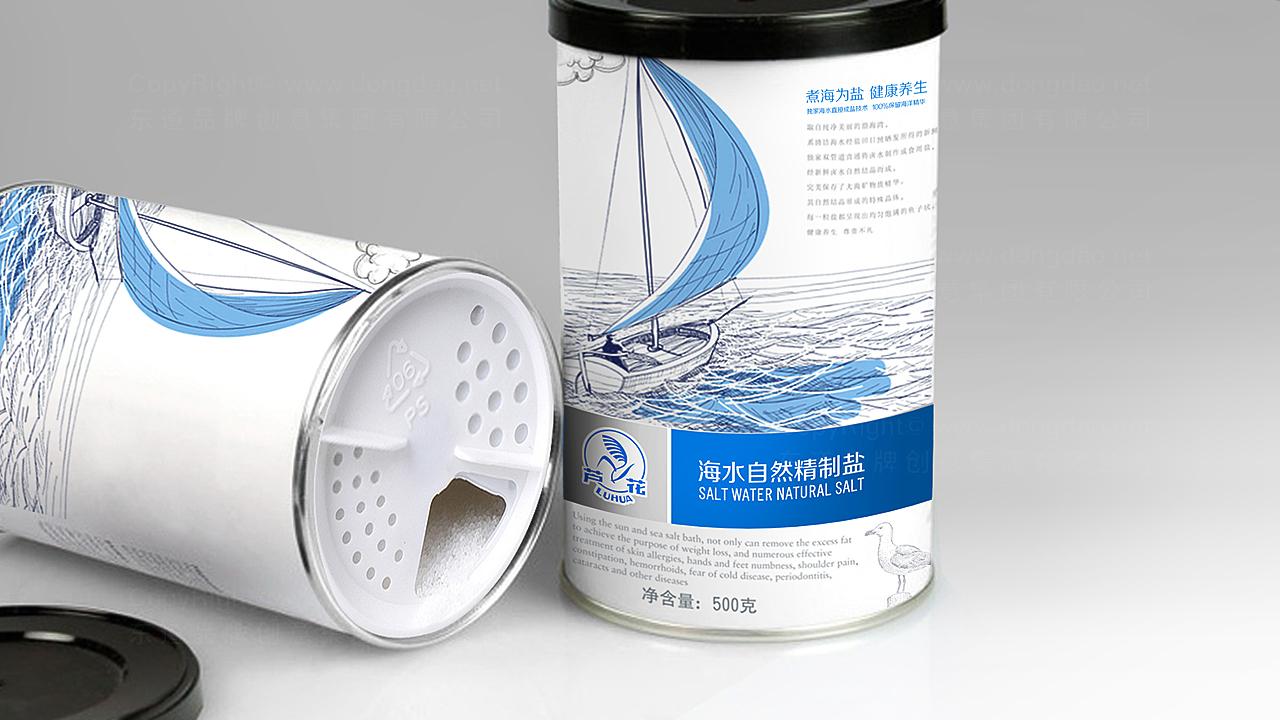产品包装芦花海盐芦花海盐系列包装设计应用场景