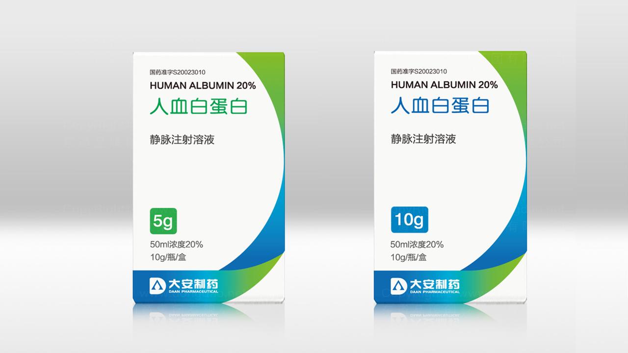 产品包装大安制药大安制药系列包装设计应用场景
