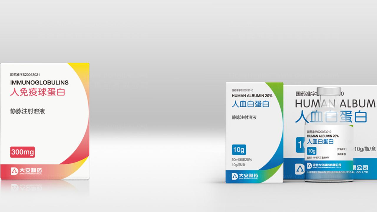 产品包装大安制药大安制药系列包装设计应用场景_1