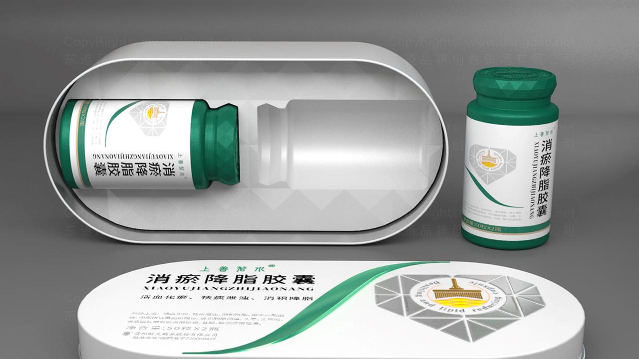 产品包装新天消瘀降脂包装设计应用场景_3