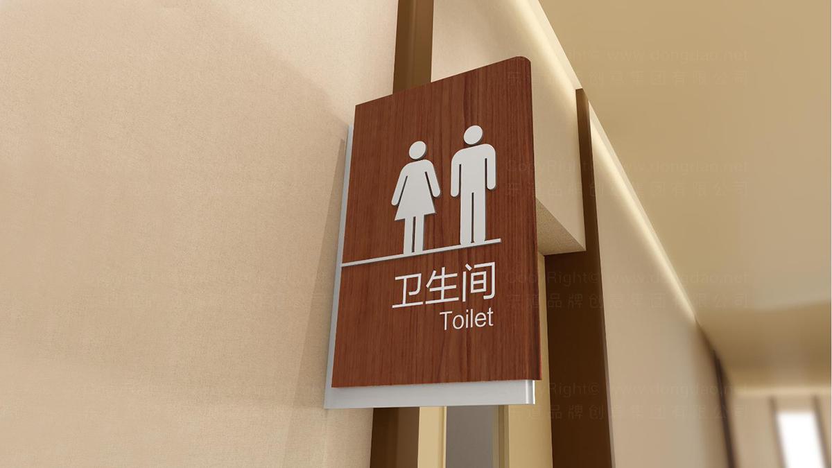 商业空间&导示和平整容院环境导示应用场景