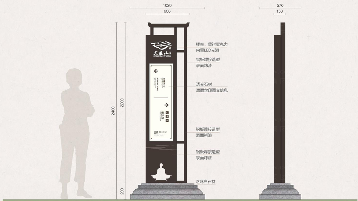 商业空间&导示大苏山旅游旅游和新区环境导示应用