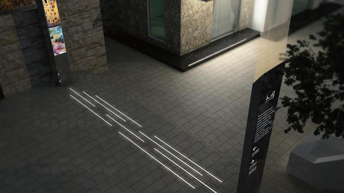 地产建筑商业空间&导示山水文园弘燕路弘燕路标导示系统设计