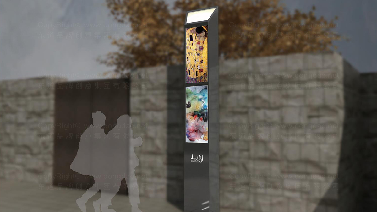 商业空间&导示山水文园弘燕路弘燕路标导示系统设计应用场景