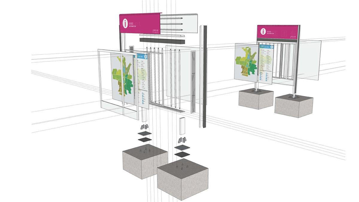 商业空间&导示青岛世园会环境导示应用场景