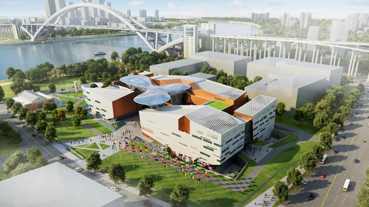 商业空间&导示案例上海世博会博物馆空间设计