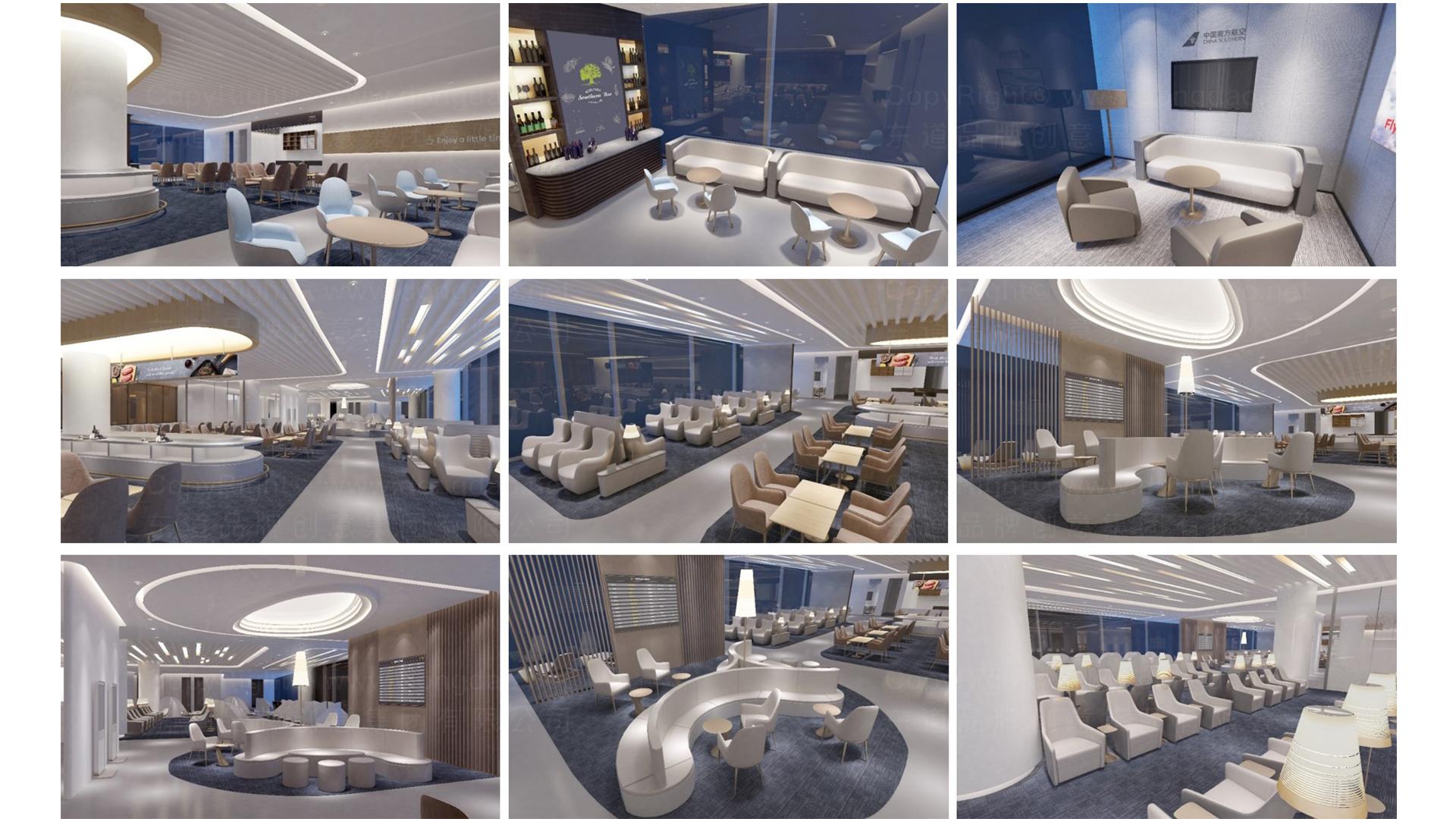 商业空间&导示南方航空南航上海浦东机场 S2 卫星听高端旅客休息室 SI应用场景_9