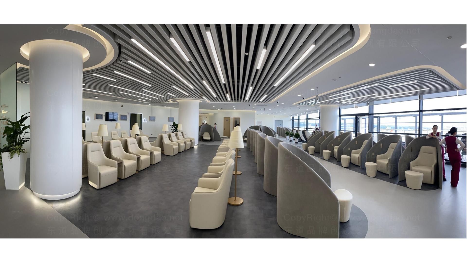 商业空间&导示南方航空南航上海浦东机场 S2 卫星听高端旅客休息室 SI应用场景_13