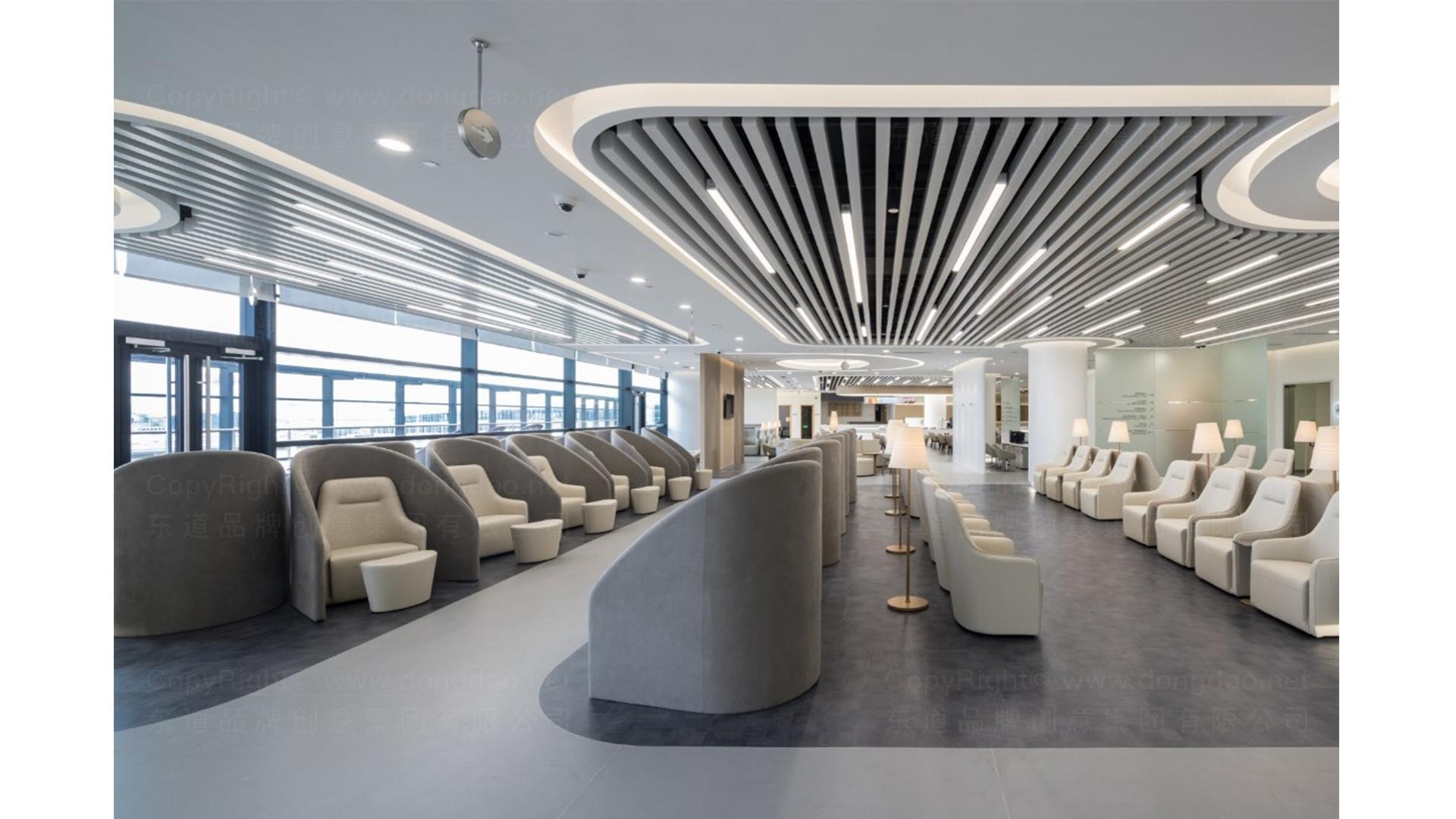 商业空间&导示南方航空南航上海浦东机场 S2 卫星听高端旅客休息室 SI应用场景_14