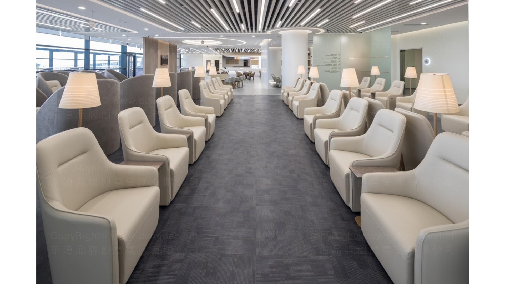 商业空间&导示南方航空南航上海浦东机场 S2 卫星听高端旅客休息室 SI应用场景_15