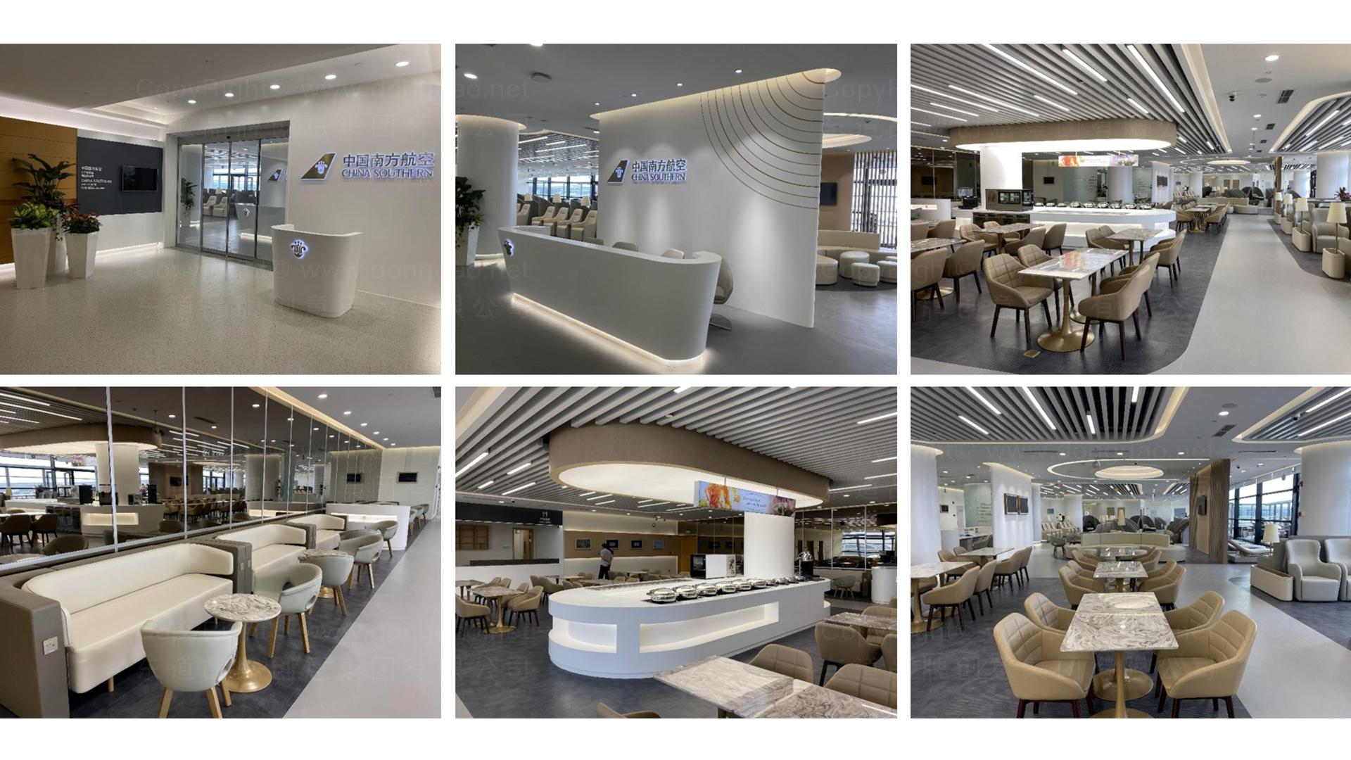 商业空间&导示南方航空南航上海浦东机场 S2 卫星听高端旅客休息室 SI应用场景_16