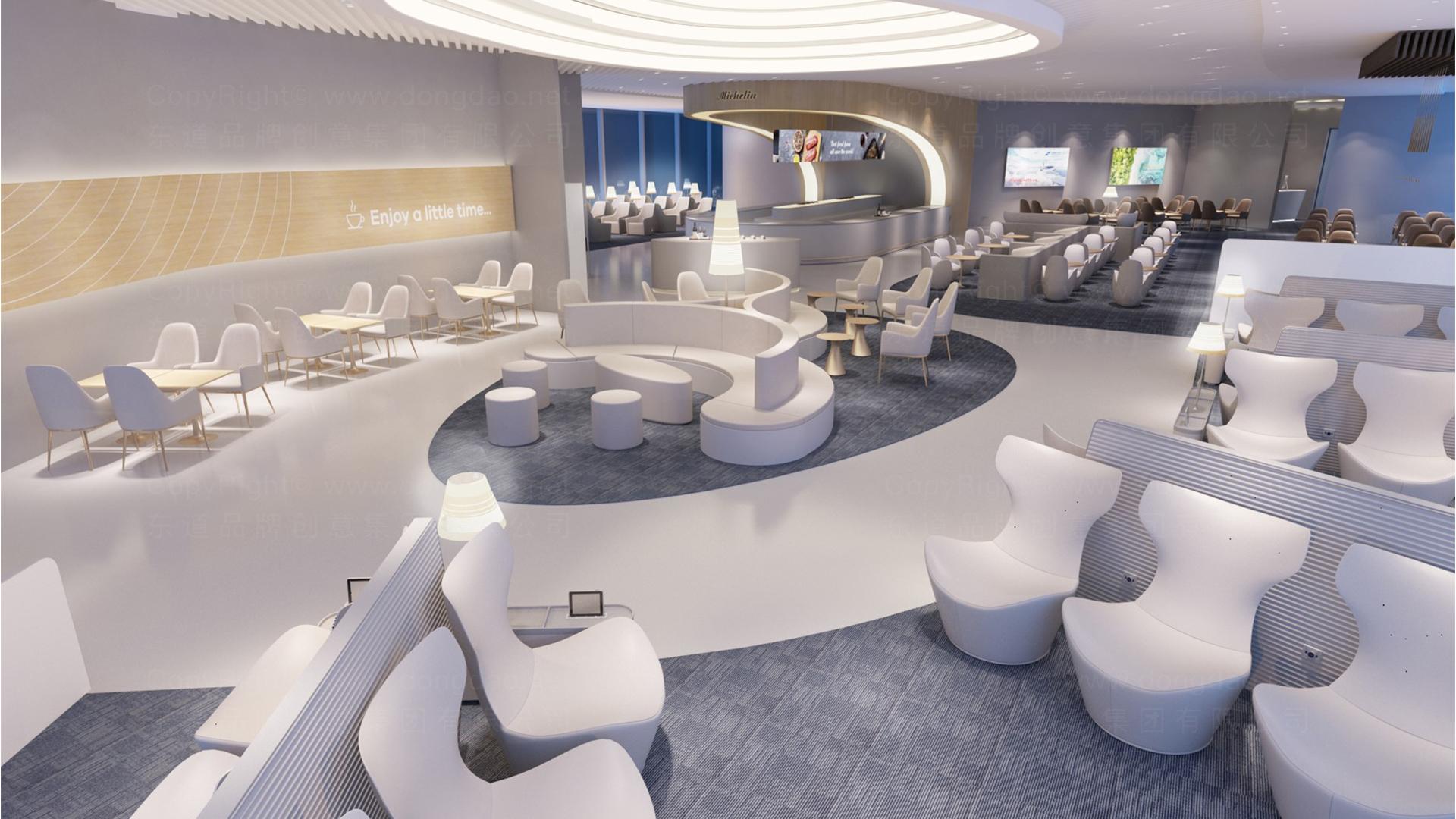 商业空间&导示南方航空南航上海浦东机场 S2 卫星听高端旅客休息室 SI应用