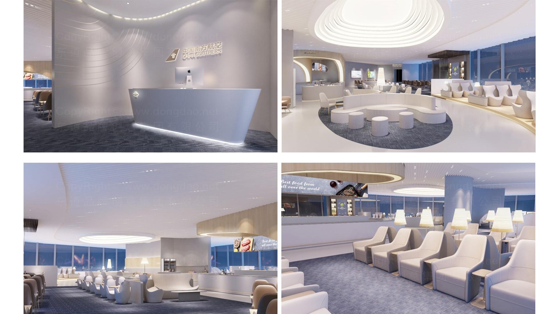商业空间&导示南方航空南航上海浦东机场 S2 卫星听高端旅客休息室 SI应用场景_1