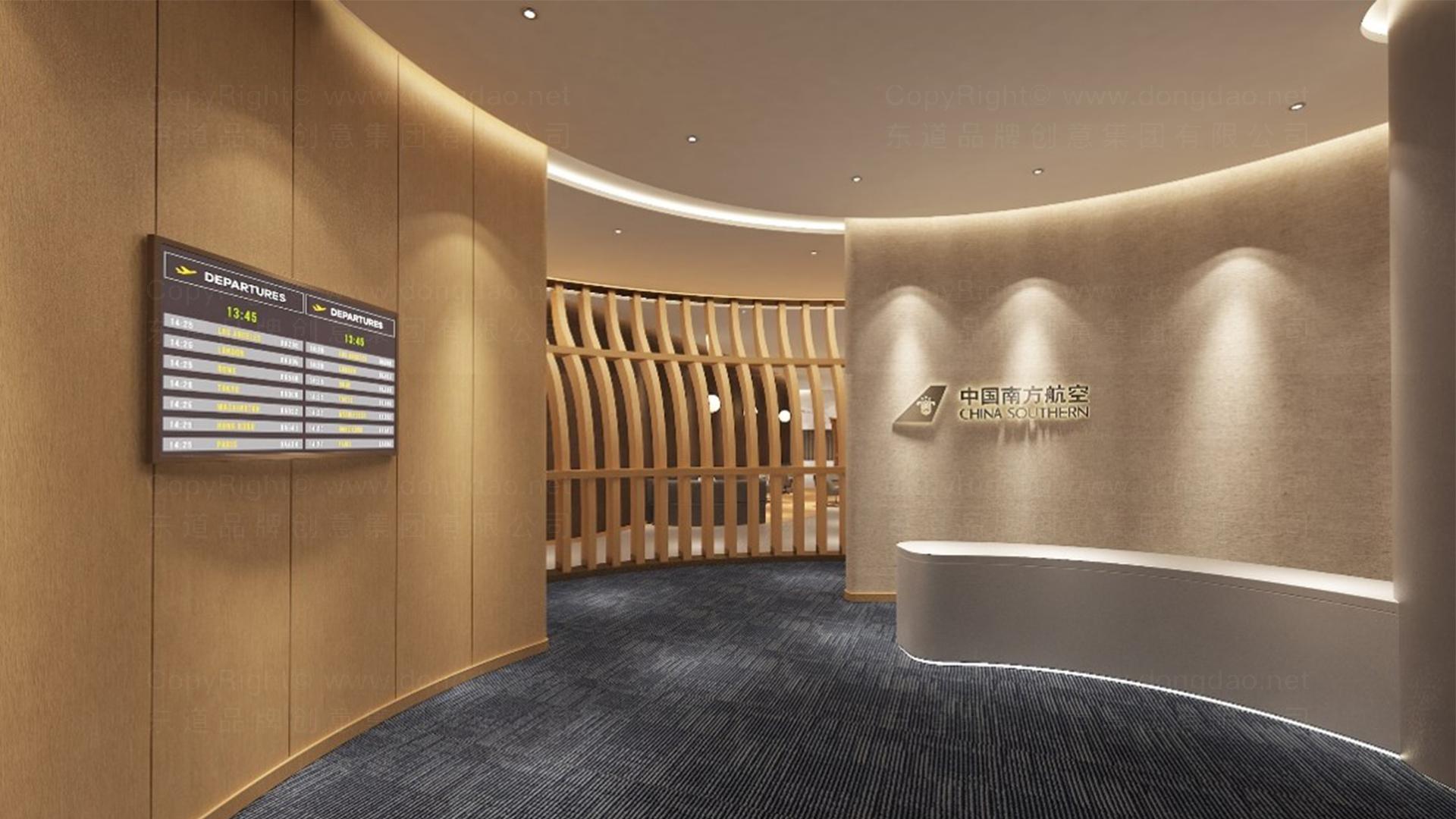 商业空间&导示南方航空南航上海浦东机场 S2 卫星听高端旅客休息室 SI应用场景_4