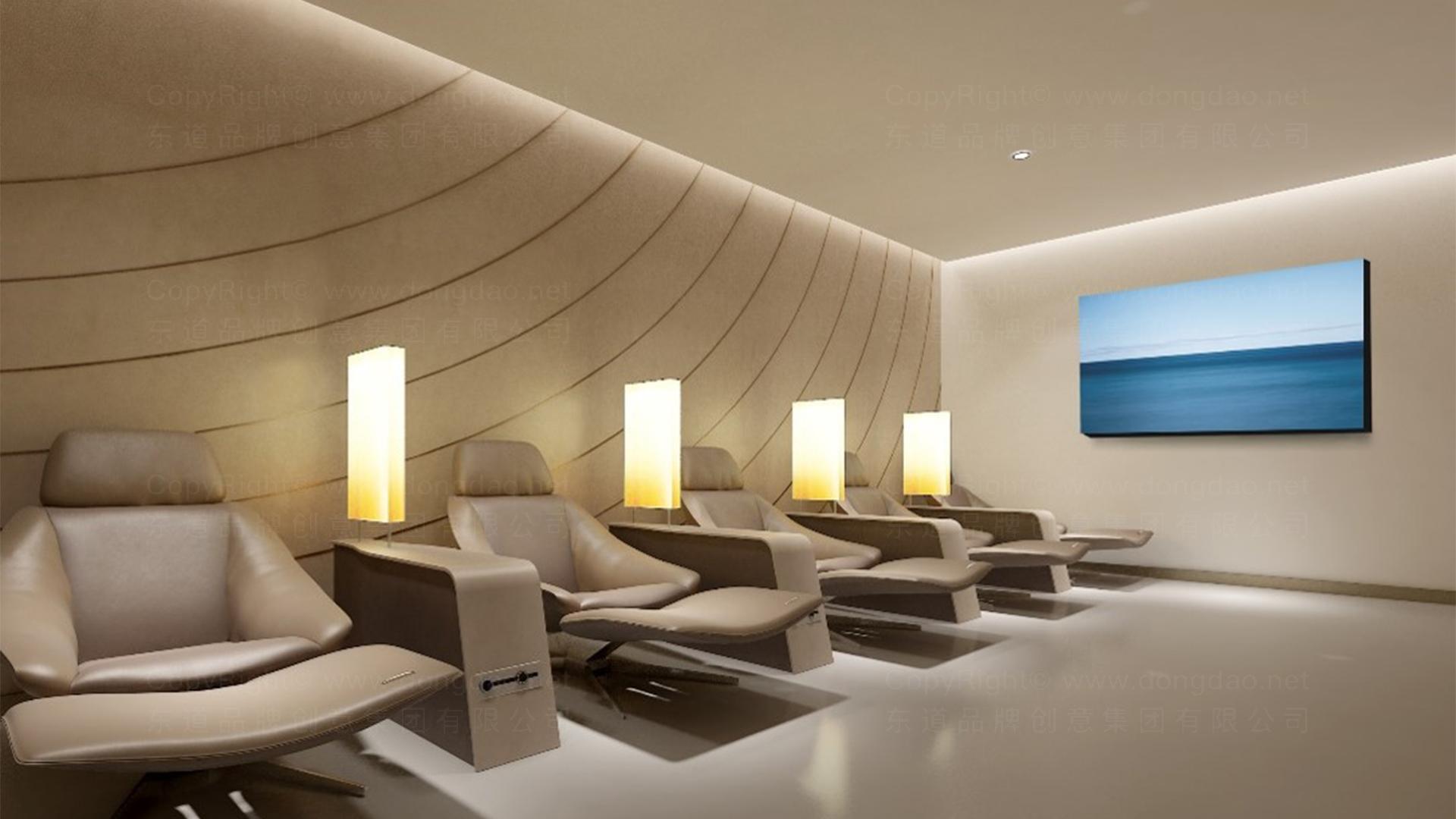 商业空间&导示南方航空南航上海浦东机场 S2 卫星听高端旅客休息室 SI应用场景_5