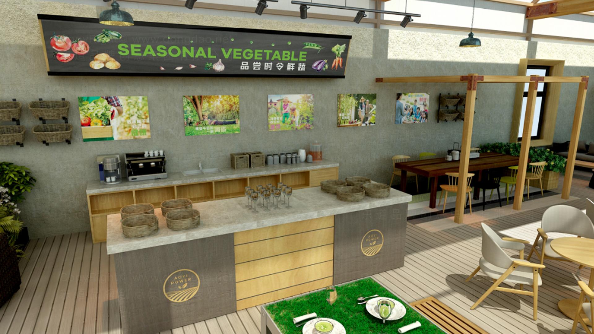 商业空间&导示奥一农场农场SI设计应用场景_6